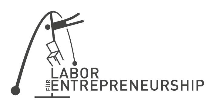 Logo Lab f Entrepr typo sw Labortermine