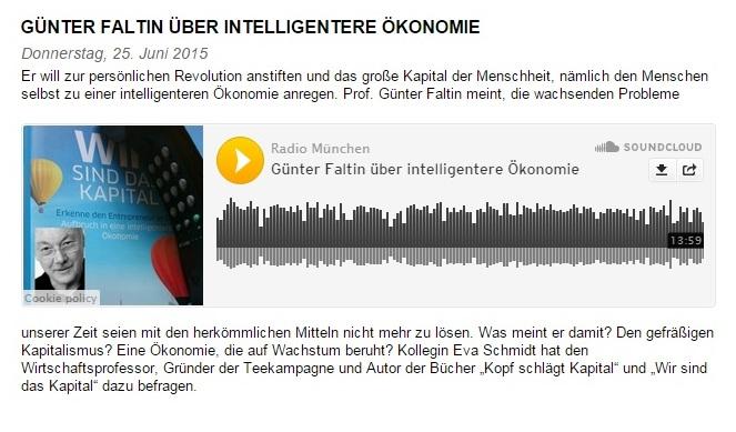 wsdk radio muenchen interview Wir sind das Kapital   Radio München