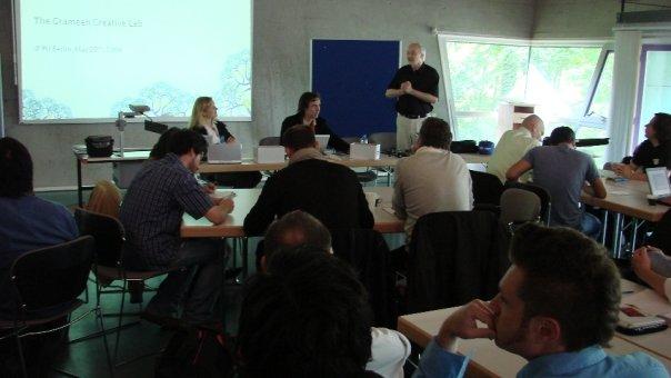 Günter Faltin's Photos - Grameen Creative Lab 20. Mai 2009